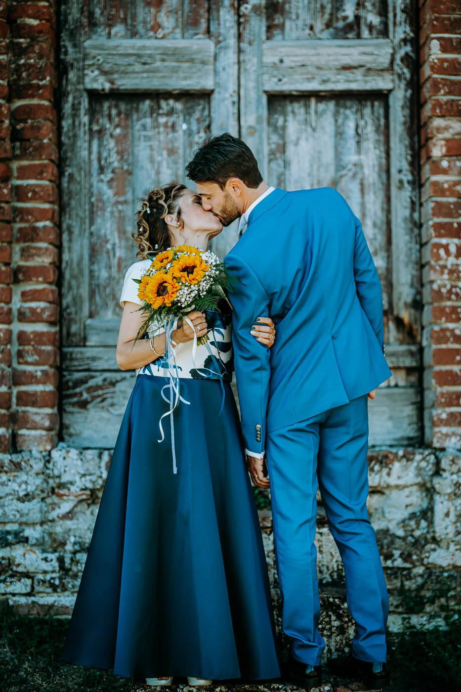 tuscany photographer wedding couple at the marriage ceremony